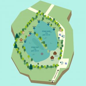 plan de l'étang